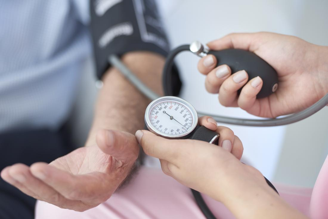 High blood pressure may increase dementia risk
